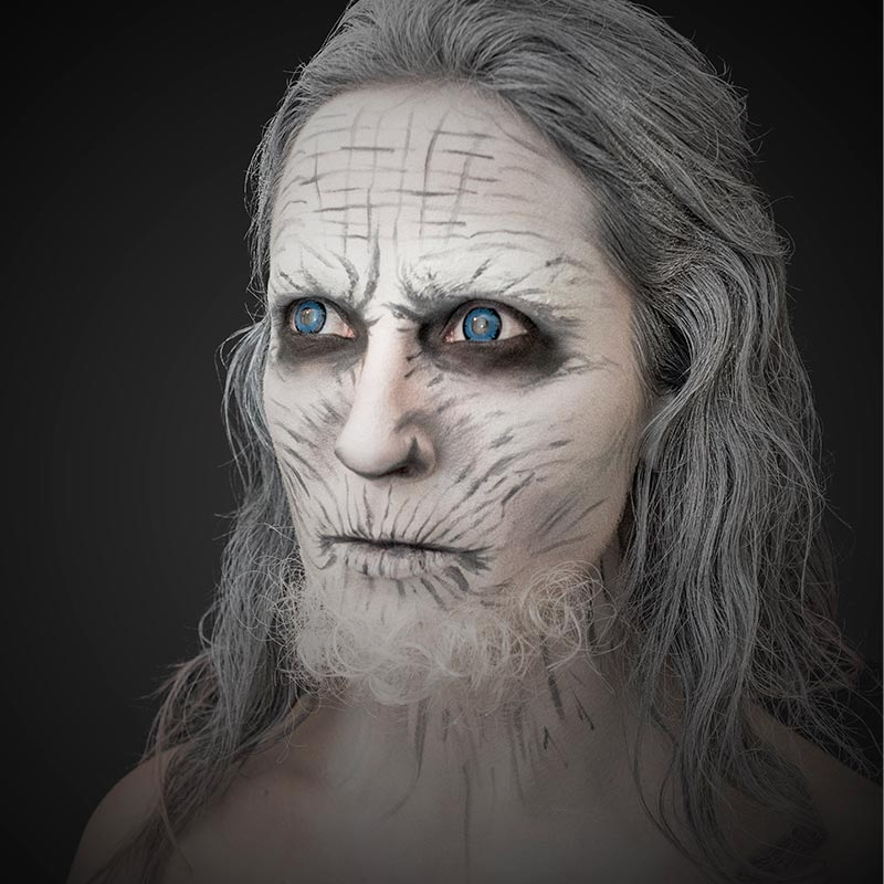 Bonjour Makeup - Nights King from Game of Thrones
