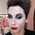 Bonjour Makeup - Halloween Ursula from The Little Mermaid